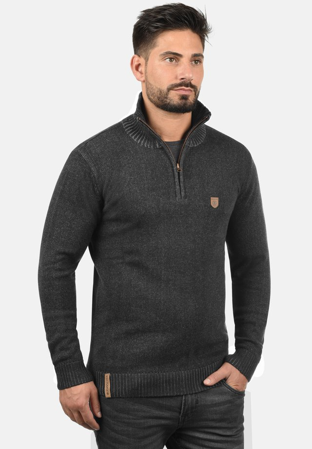 TROYER NATHEN - Jumper - black