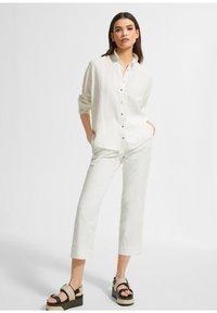 comma - Button-down blouse - white - 1