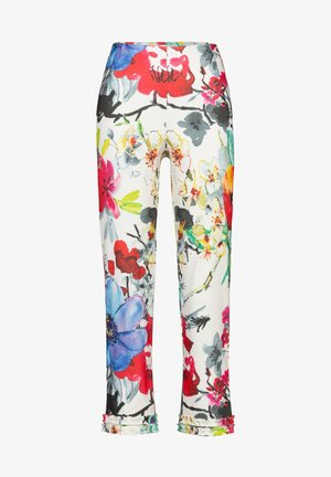 WATERFORD-642 95015 STRETCHHOSE - Trousers - offwhite