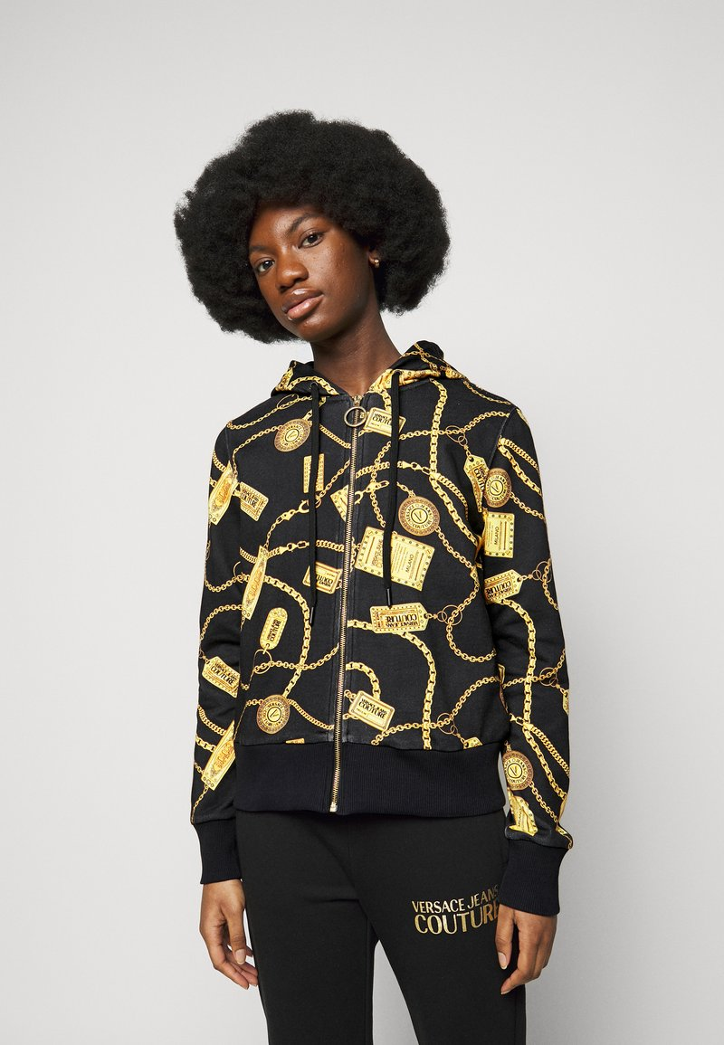 Versace Jeans Couture - Mikina na zip - black