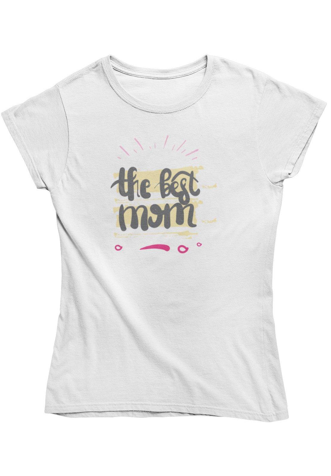 Damen THE BEST MOM - T-Shirt print
