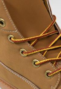 Kappa - KOMBO MID - Zapatillas de senderismo - beige/brown - 5
