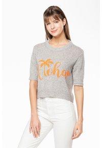 Rosa & Me - ALOHA - Print T-shirt - silver - 0