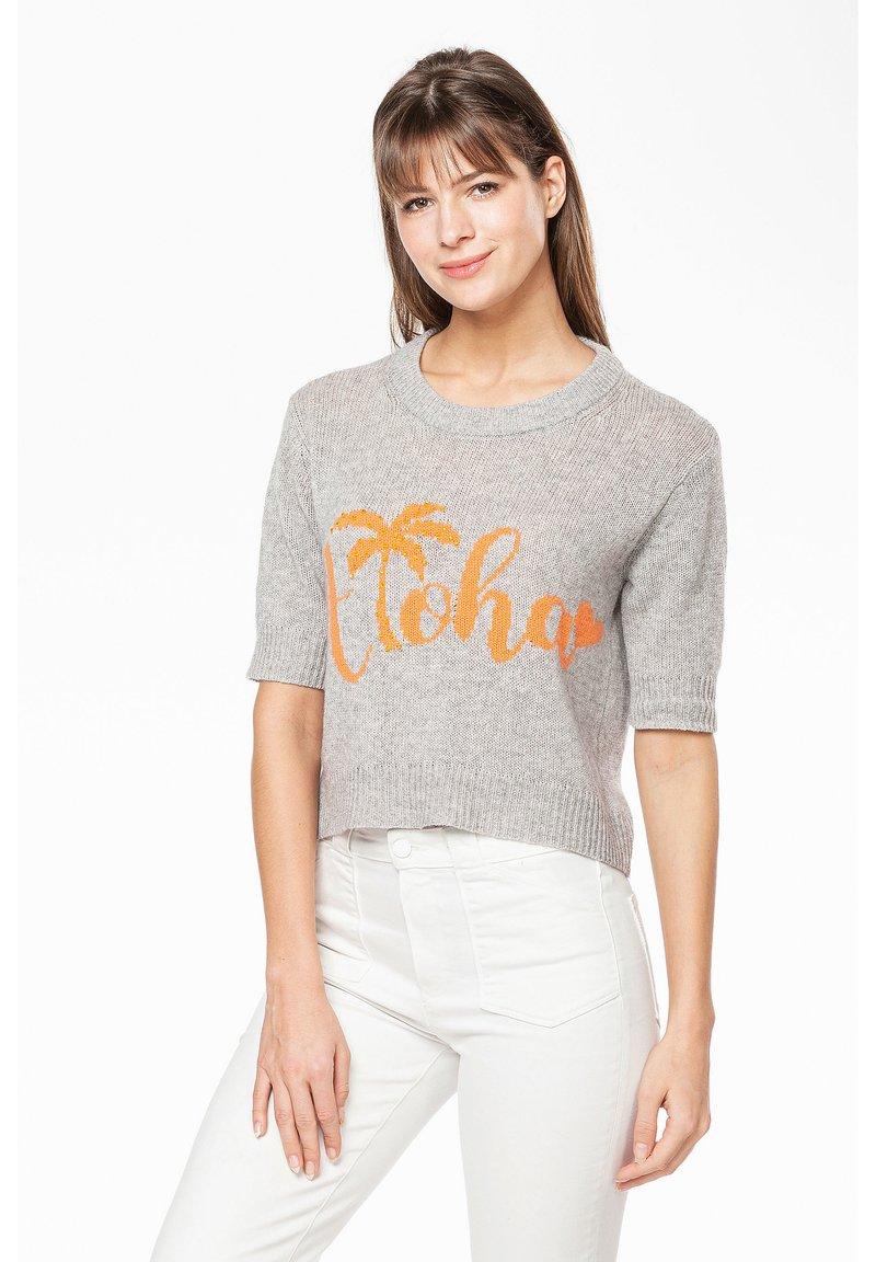 Rosa & Me - ALOHA - Print T-shirt - silver