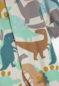 Next - 3 PACK  - Pyjamas - blue/brown/white - 5
