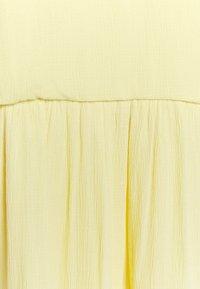 YAS Tall - YASVELO MIDI DRESS TALL - Day dress - pale banana - 2