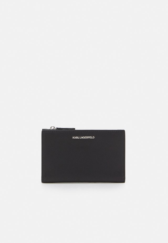 IKON FOLDED CARD - Plånbok - black