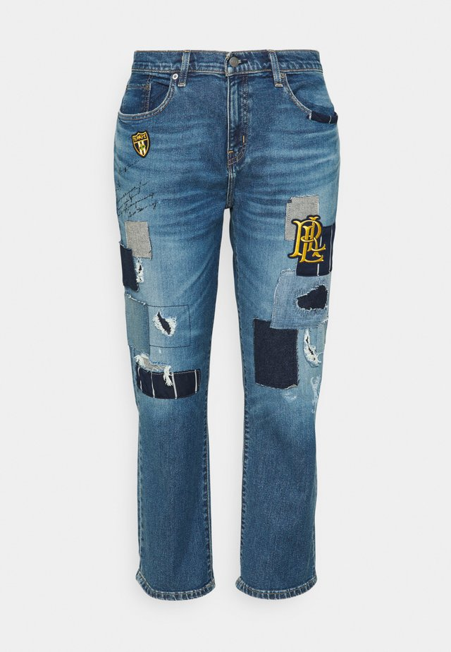 TAPER - Relaxed fit jeans - tinted sapphire wash