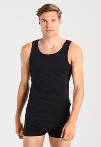 Zalando Essentials - 3 PACK - Undershirt - black - 0