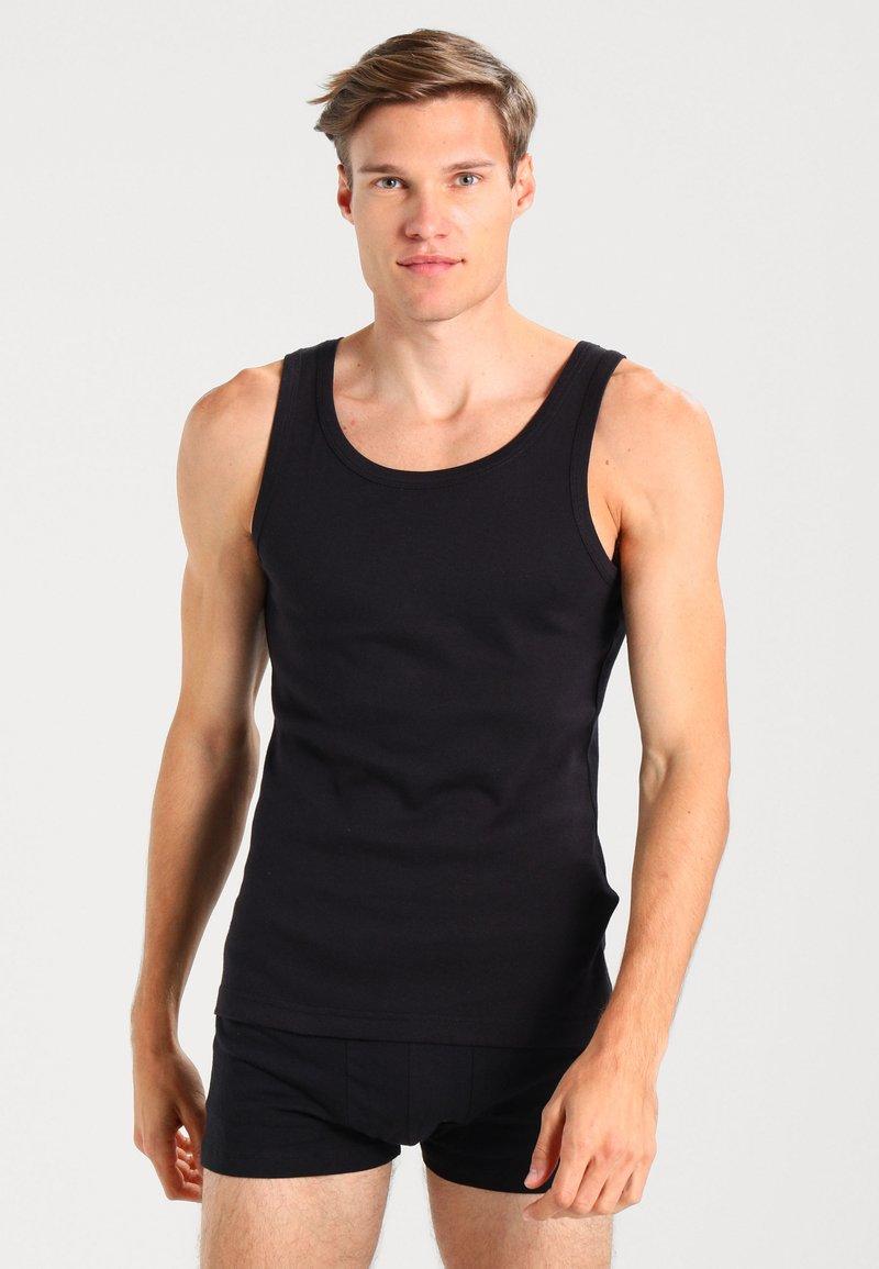Zalando Essentials - 3 PACK - Undershirt - black