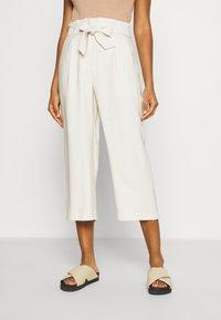 Vero Moda - VMEMILY CULOTTE PANT - Trousers - birch - 0