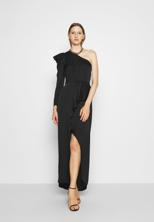 MEA ONE SHOULDER DRESS - Gallakjole - black