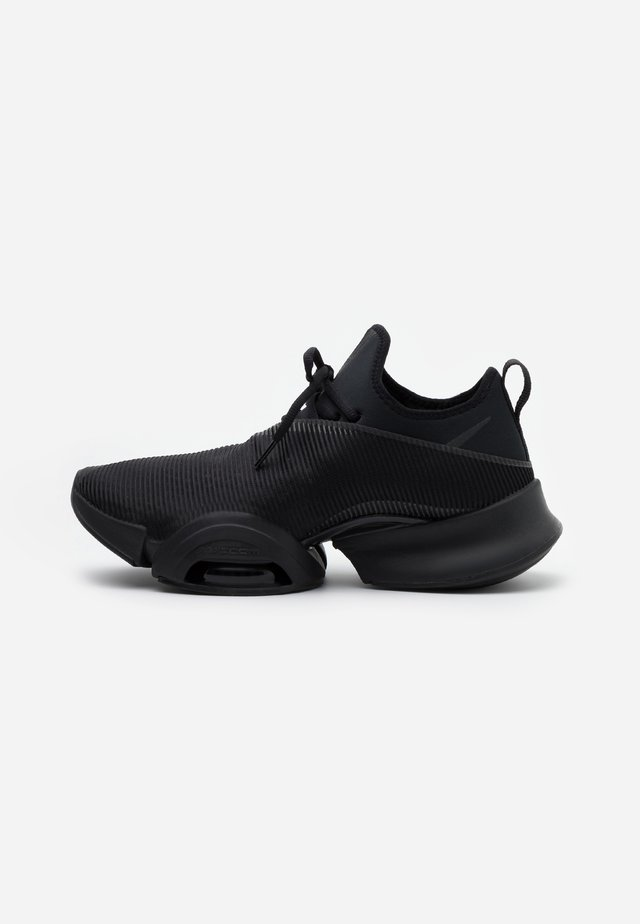 AIR ZOOM SUPERREP UNISEX - Obuwie treningowe - black/anthracite/pure platinum