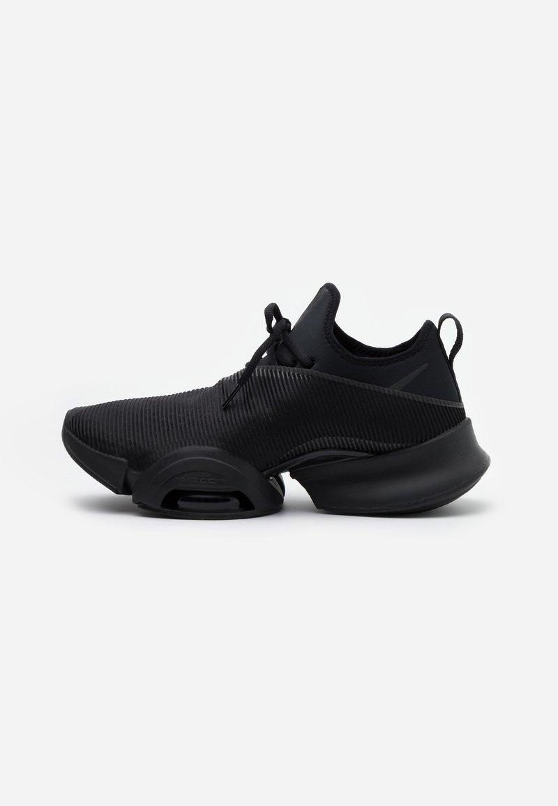 Nike Performance - AIR ZOOM SUPERREP UNISEX - Sportovní boty - black/anthracite/pure platinum