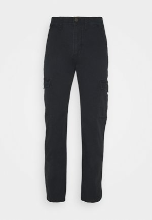 TAPERED PANT - Cargobyxor - black