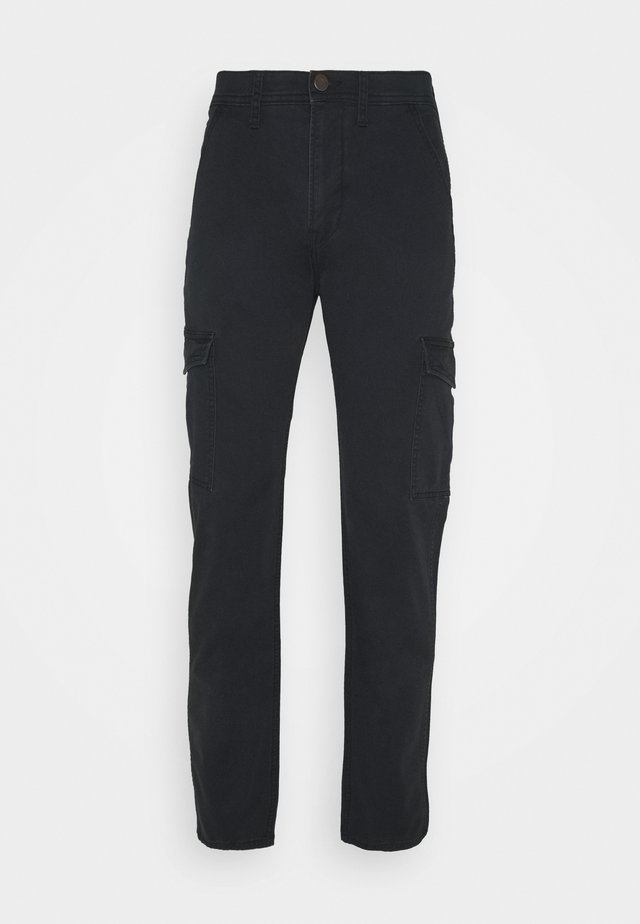 TAPERED PANT - Cargo trousers - black