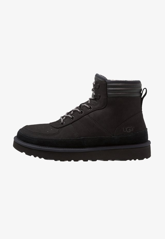 HIGHLAND SPORT - Bottines à lacets - black