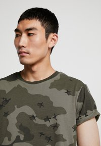 G-Star - SWANDO RELAXED RT S/S - Print T-shirt - dark shamrock - 4