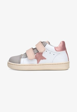 Touch-strap shoes - beige