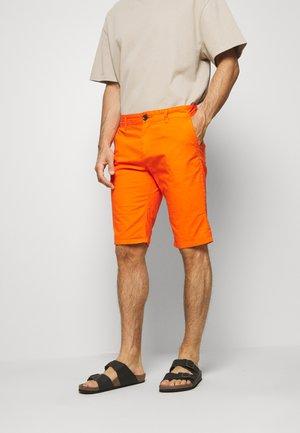 Shorts - caramel orange