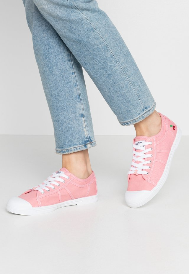 BASIC - Sneakers basse - rose