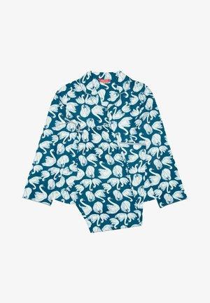 Sleep suit - swan print