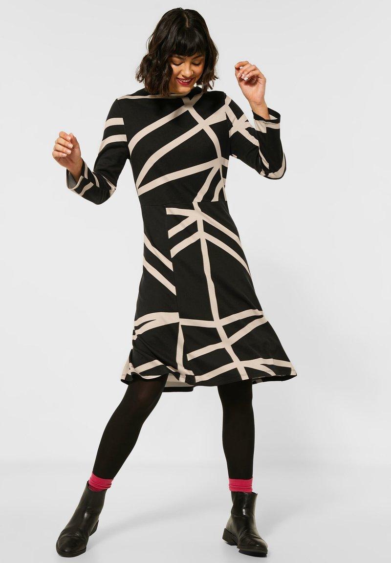 Street One - Day dress - schwarz