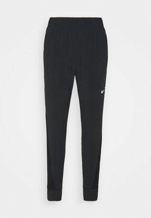 PANT COOL - Teplákové kalhoty - black/reflective silver