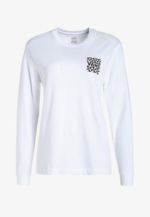 GOOD HANGS - Long sleeved top - white
