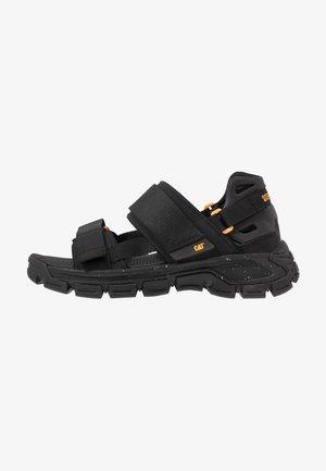 PROGRESSOR - Walking sandals - black