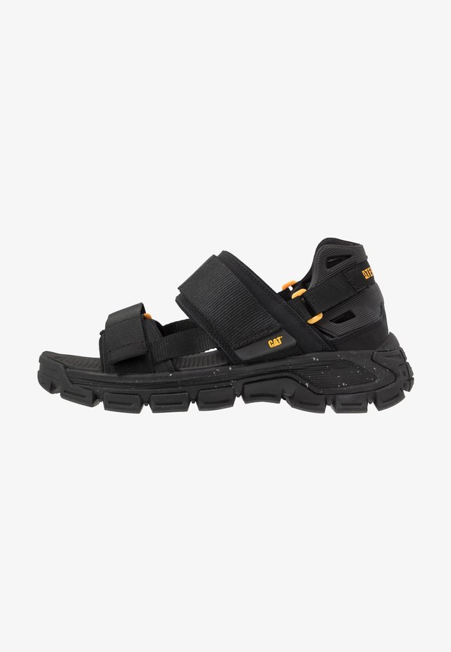 PROGRESSOR - Chodecké sandály - black