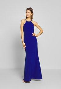 WAL G. - SCALLOP EDGE DRESS - Společenské šaty - electric blue - 1