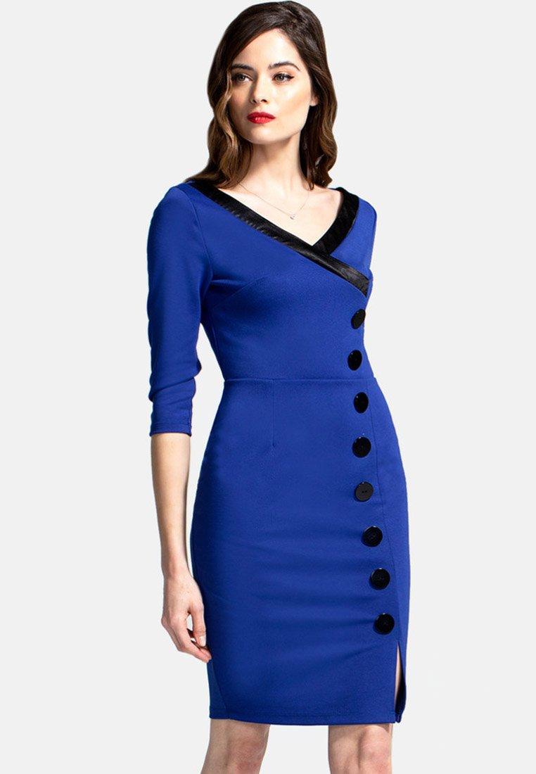 HotSquash - Pouzdrové šaty - blue