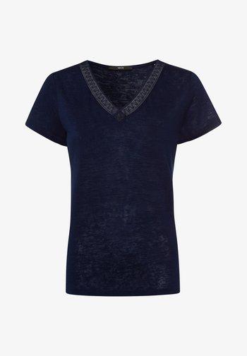Basic T-shirt - desert night blue
