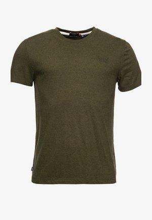 OL VINTAGE EMB  - Basic T-shirt - winter khaki grit