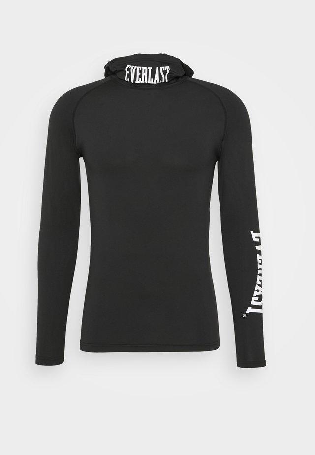 BASELAYERS ONYX - T-shirt à manches longues - black