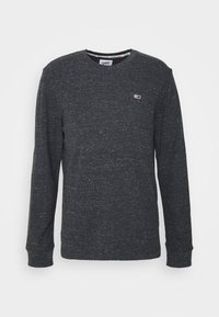 Tommy Jeans - POCKET TEE - Long sleeved top - black heather - 3