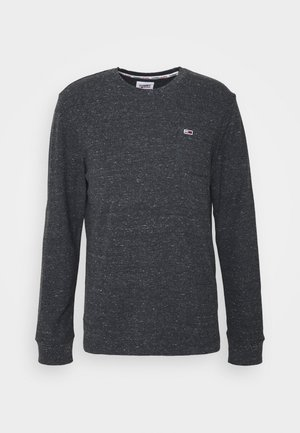 POCKET TEE - Long sleeved top - black heather