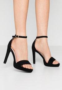 BEBO - CIMONA - Sandály na vysokém podpatku - black - 0