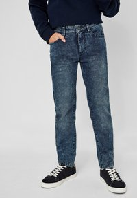 s.Oliver - Straight leg jeans - dark blue - 0