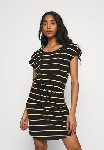 ONLMAY DRESS 2PACK  - Jerseykjole - black/double yolk