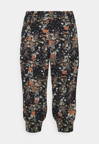Zizzi - VVIGA PANT - Trousers - black - 0