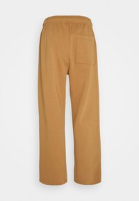 Jaded London - GARMENT DYED WIDE LEG JOGGERS - Pantaloni sportivi - tan - 1