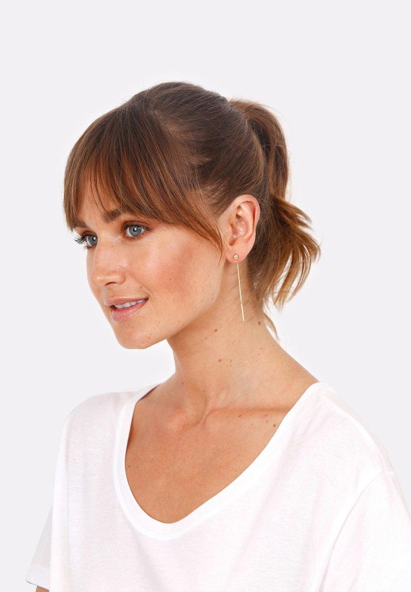 Elli - GEO KUGEL - Earrings - gold-coloured