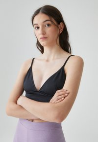 PULL&BEAR - Top - black - 3