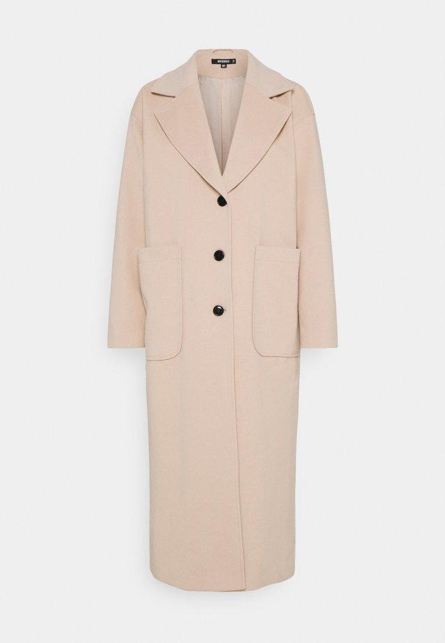 LONGLINE - Klasický kabát - cream