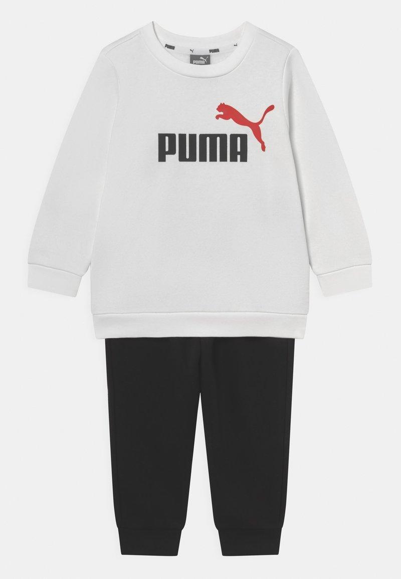 Puma - MINICATS CREW SET UNISEX - Tepláková souprava - white/black