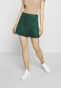 ONLY - ONLLINEA BONDED - A-line skirt - pine grove - 0