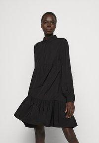 Bruuns Bazaar - HYACINTH JASLENE DRESS - Shirt dress - black - 0