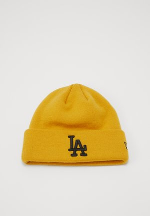 KIDS LEAGUE ESSENTIAL CUFF - Beanie - yellow/black